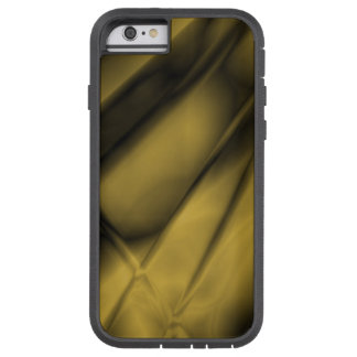Abstract Antiqued Brass Colored iPhone Tough Case