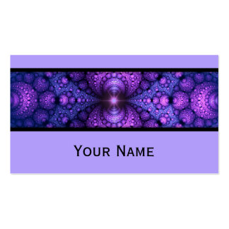 Abstract Apophysis Fractal atom fusion + your text Pack Of Standard Business Cards