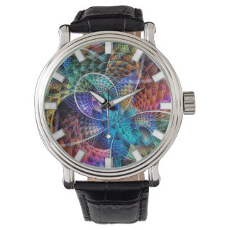 Abstract Apophysis Fractal X Watch
