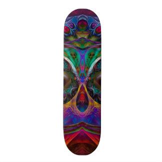 Abstract Apophysis Owl I Custom Skateboard