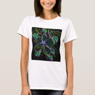 Abstract Apple Blossom ladies baby doll T-Shirt