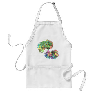 Abstract Adult Apron
