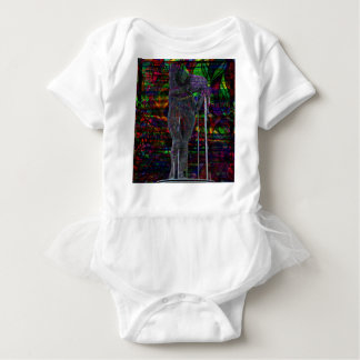 Abstract Aquarius Goddess Baby Bodysuit
