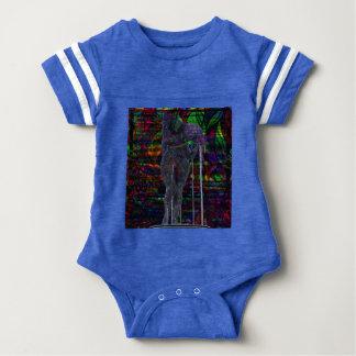 Abstract Aquarius Goddess Baby Bodysuit