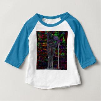 Abstract Aquarius Goddess Baby T-Shirt