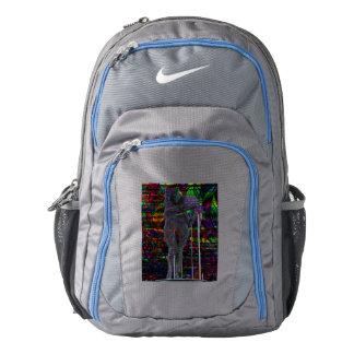 Abstract Aquarius Goddess Backpack