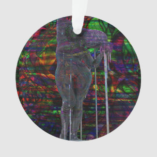 Abstract Aquarius Goddess Ornament