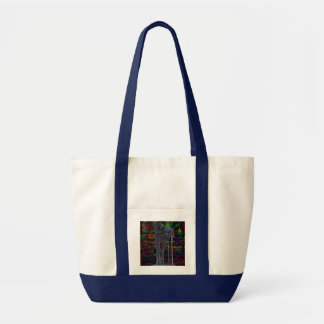 Abstract Aquarius Goddess Tote Bag