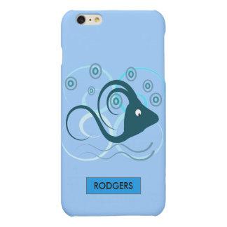 Abstract Aquatic Design iPhone 6 Plus Case