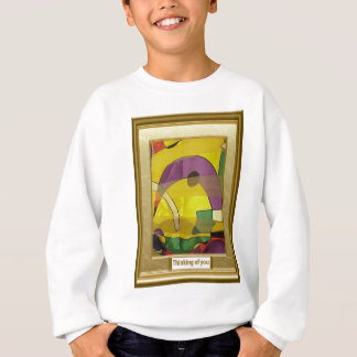 Abstract arches sweatshirt