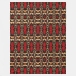 Abstract Architecture Art Coffee Ox Blood blanket Fleece Blanket