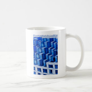 Abstract Architecture -Blue Mug