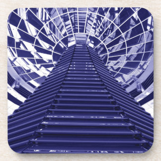 Abstract architecture design beverage coaster