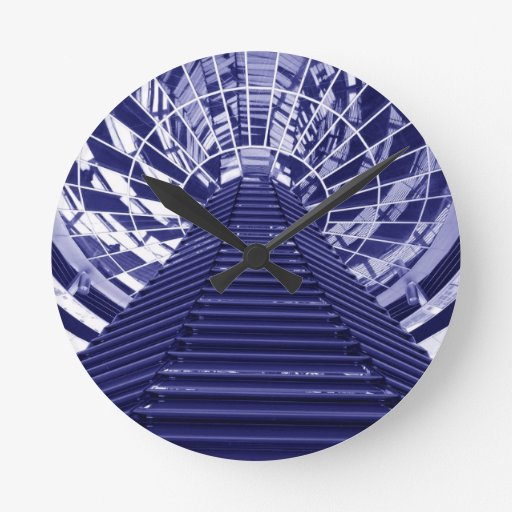 Abstract architecture design wallclocks