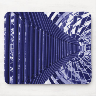 Abstract architecture design mouse mat