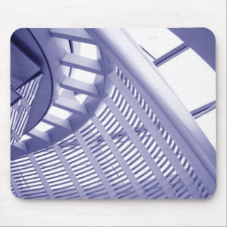 Abstract architecture design mouse pad