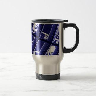 Abstract architecture design mug