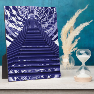 Abstract architecture design photo plaques