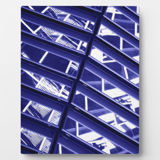 Abstract architecture design plaque