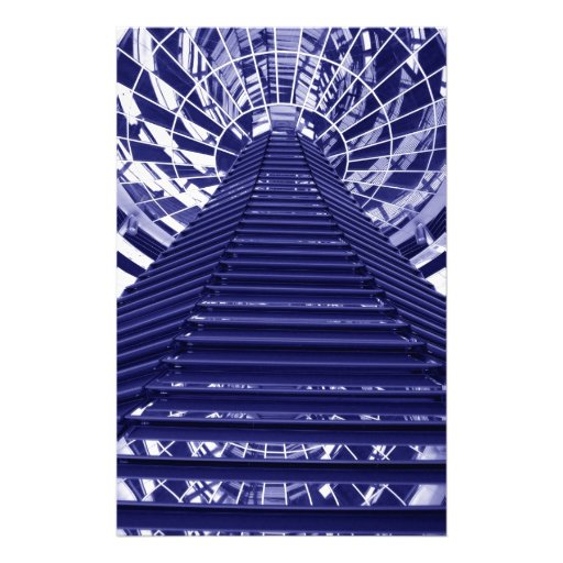 Abstract architecture design personalised stationery