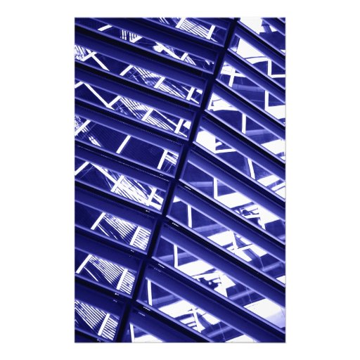 Abstract architecture design stationery