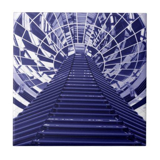 Abstract architecture design ceramic tiles