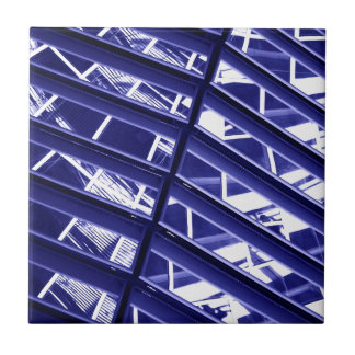 Abstract architecture design ceramic tile