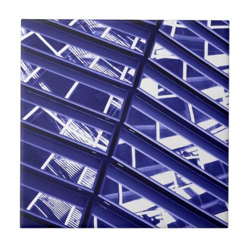Abstract architecture design ceramic tile