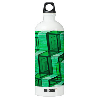 Abstract Architecture -Green SIGG Traveller 1.0L Water Bottle