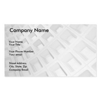 Abstract Architecture in Black and White Pack Of Standard Business Cards