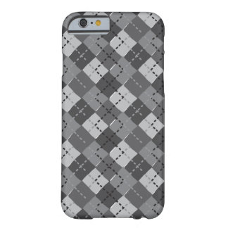 Abstract Argyle Barely There iPhone 6 Case