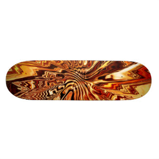 Abstract Art 110 Skateboard