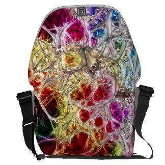 Abstract Art 132 Messenger Bag