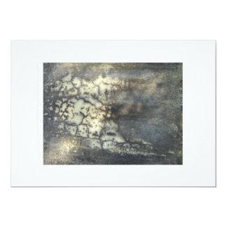 Abstract Art 13 Cm X 18 Cm Invitation Card