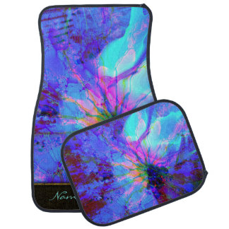 Abstract Art 159 Options Car Mat