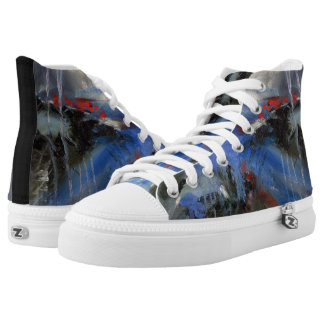 ABSTRACT ART 1 HIGH TOPS