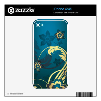 Abstract Art 43 Phone Skin Skins For iPhone 4