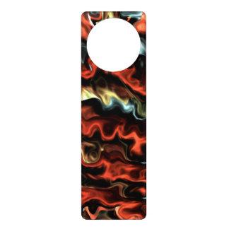 abstract art #45.555 door knob hangers