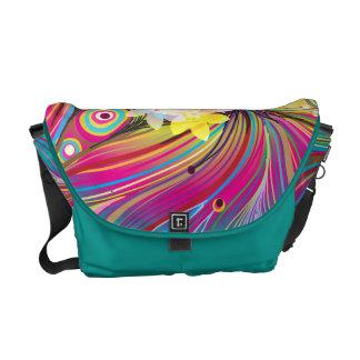 Abstract Art 60 Messenger Bags