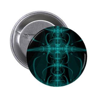 Abstract art 6 cm round badge