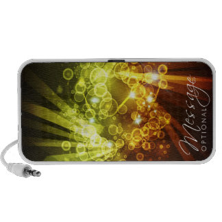 Abstract Art 8 Doodle Travel Speakers