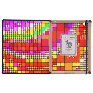 Abstract Art 93 DODO iPad Folio Cases Covers For iPad