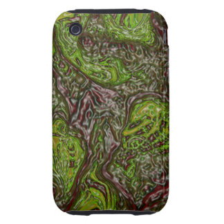 Abstract Art Alien Nest Tough iPhone 3 Cover