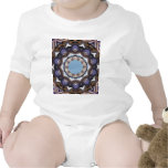 ABSTRACT ART BABY BODYSUITS