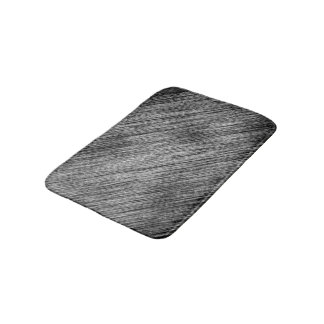 Abstract Art Black And White Background Bath Mat