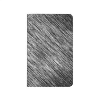 Abstract Art Black And White Background Journal