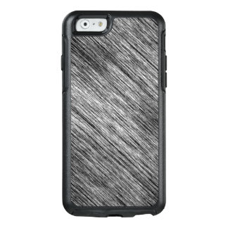 Abstract Art Black And White Background OtterBox iPhone 6/6s Case