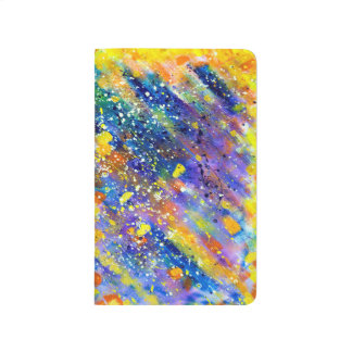 Abstract Art Blue Background Journal