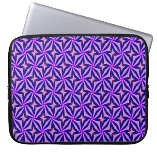 Abstract Art Blue Background Laptop Sleeve