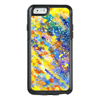 Abstract Art Blue Background OtterBox iPhone 6/6s Case
